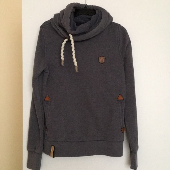 Naketano Lange IX W hoodie blue heather